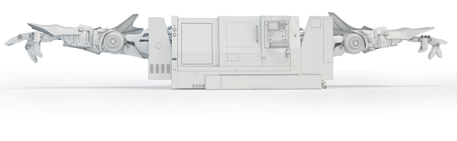 3d graphics transformer CNC mesh
