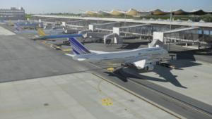 system technologiczny holowanie samolotów